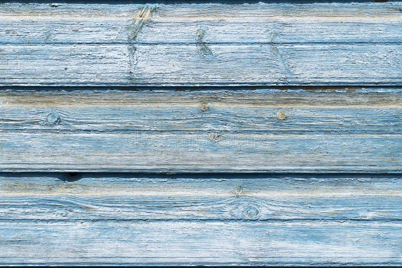 Masern Sie alten hölzernen blauen Hintergrund, einige Bretter Hintergrund des Holzes mit gebrochener Farbe, alte Bretter, frei au lizenzfreies stockbild