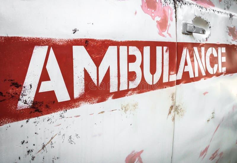 Masha et l'ambulance d'ours images stock