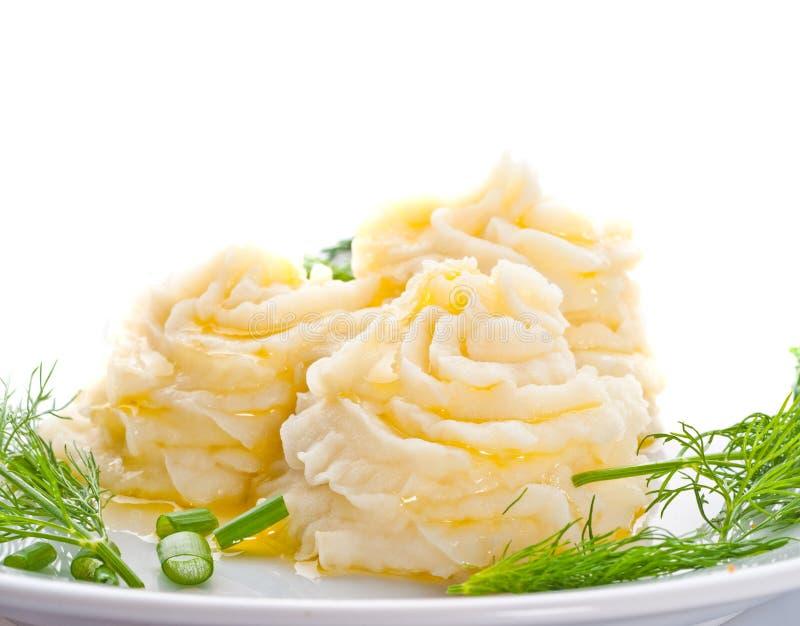 Mashed potatoes stock photography