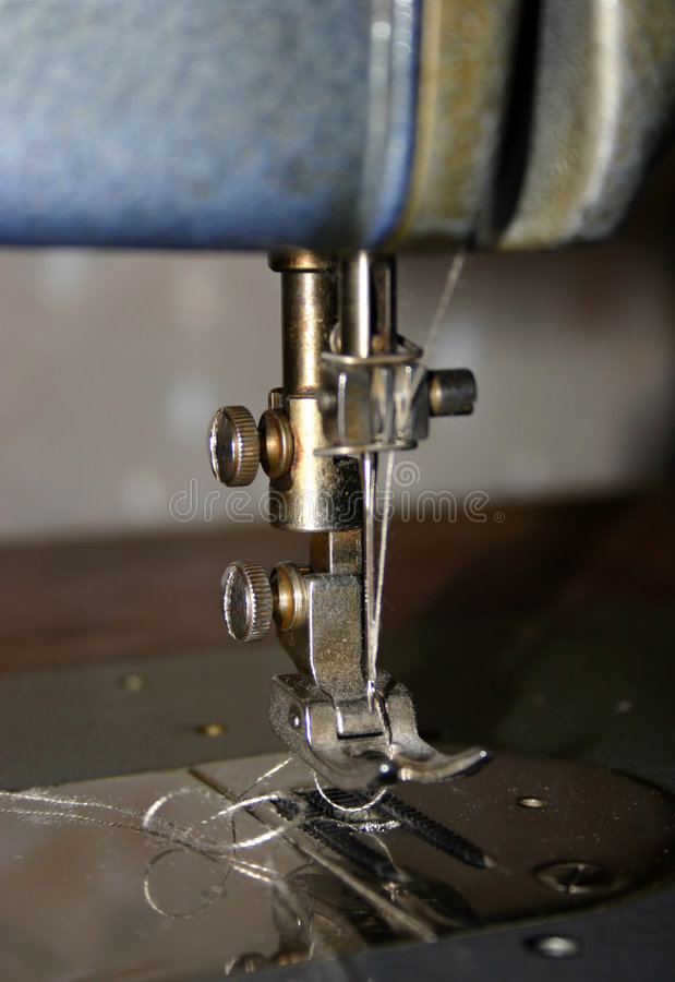 mashine seving стоковая фотография