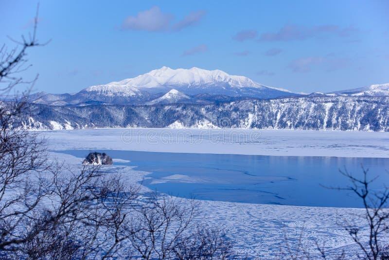 Mashu lake, Hokaido, Japan royalty free stock photography