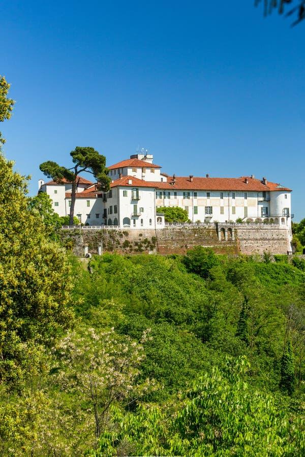 Masinokasteel in Piemonte-gebied, Italië royalty-vrije stock foto