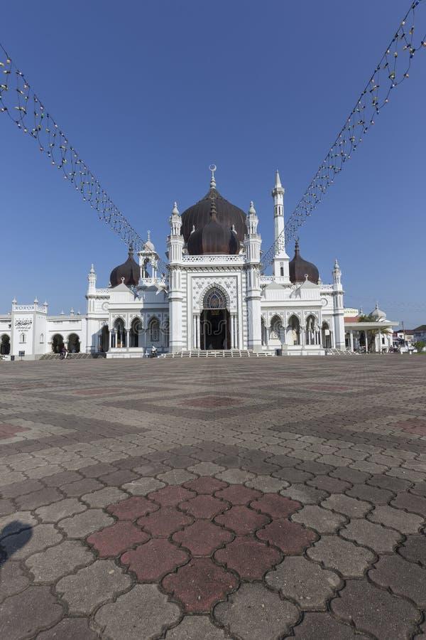 Masjid Захир в городе Alor Setar, Малайзии стоковая фотография
