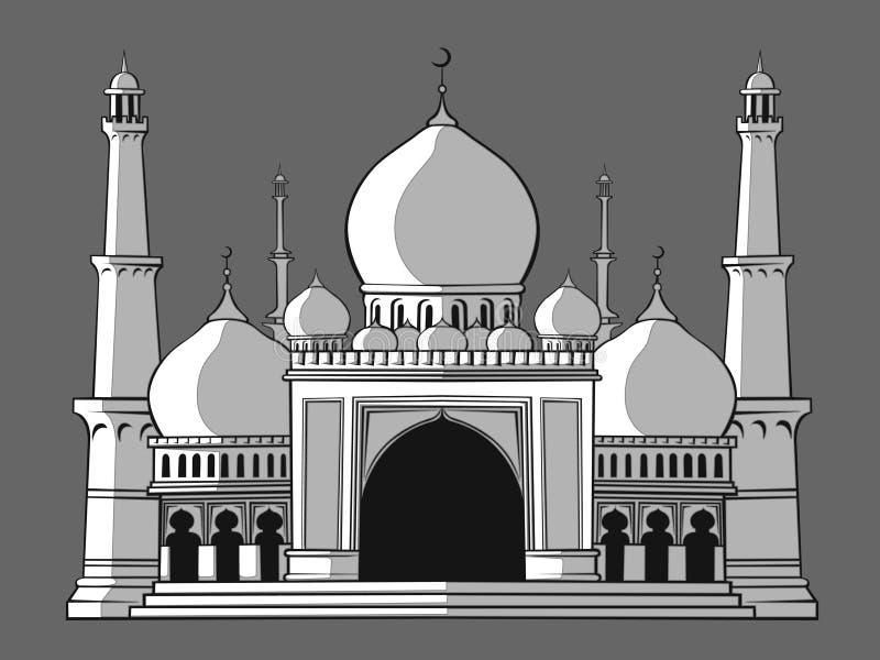 Masjid ilustracja wektor