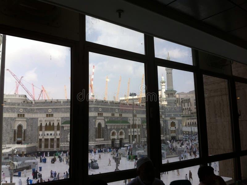 Masjid-Al-Haraam im Mekka stockfotografie