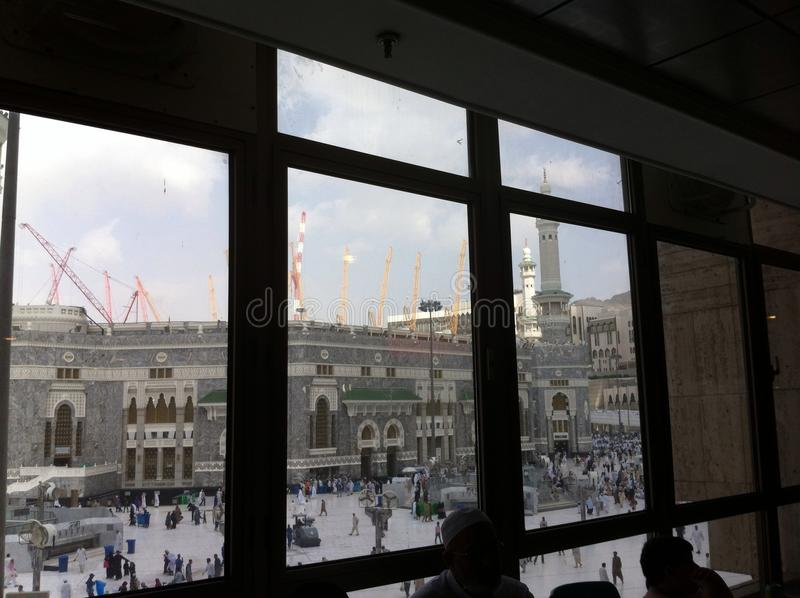 Masjid al-Haraam in Mekka stock fotografie