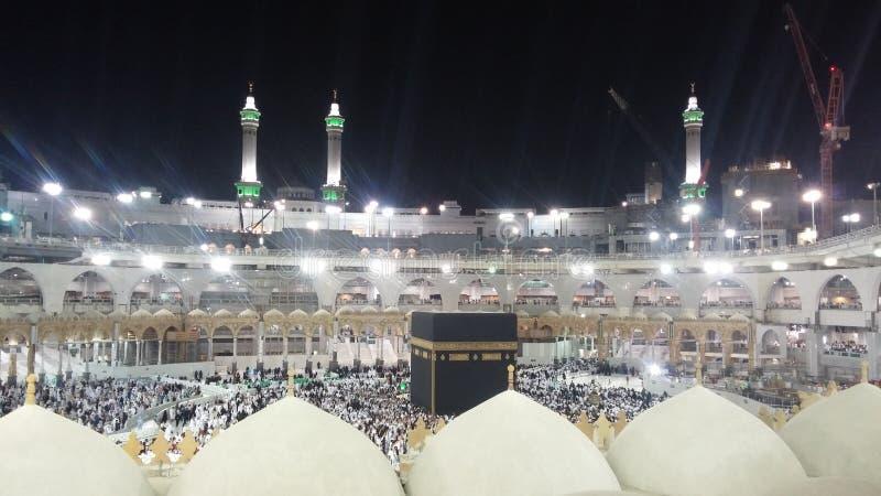 Masjid Al Haram und Kaaba lizenzfreies stockfoto