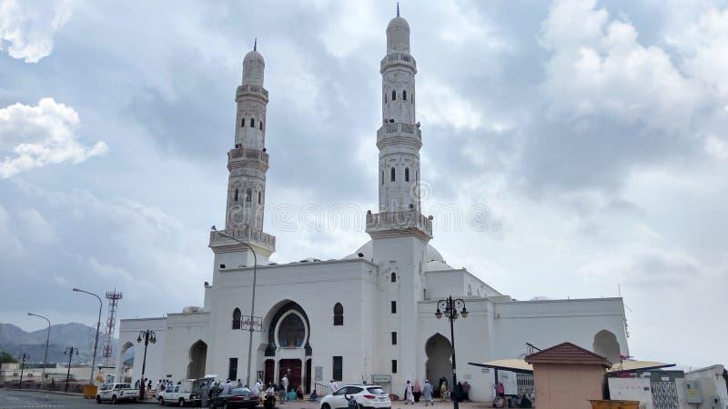 Masjid AlAreesh,沙特阿拉伯 免版税库存照片