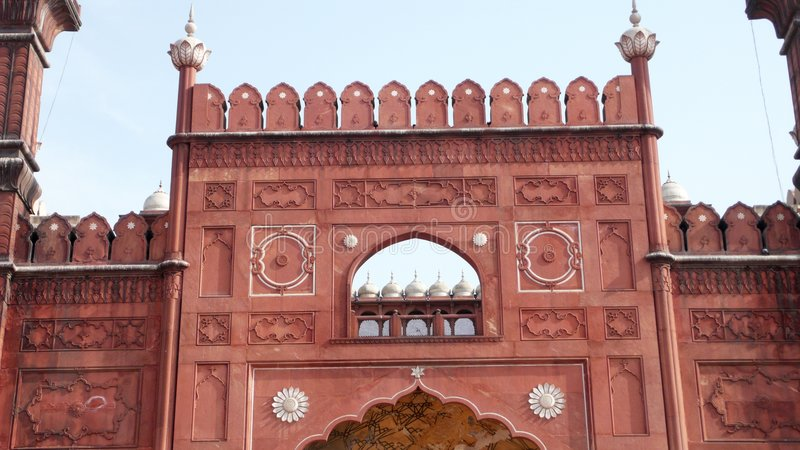 masjid badshahi стоковое изображение rf