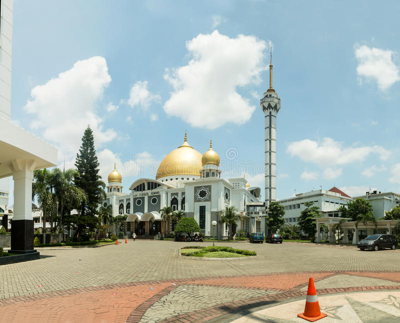 Masjid Baitul Hamdi - Surabaya Java, Indonesien stockbild
