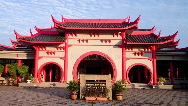 Masjid Cina Melaka stockfotografie