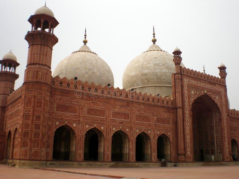 Masjid de Badshahi photo libre de droits