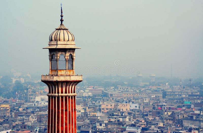 Masjid del Jama en Delhi imagen de archivo