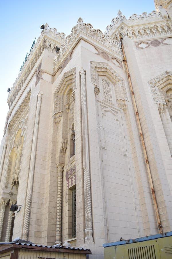 Masjid di Alessandria d'Egitto fotografia stock libera da diritti