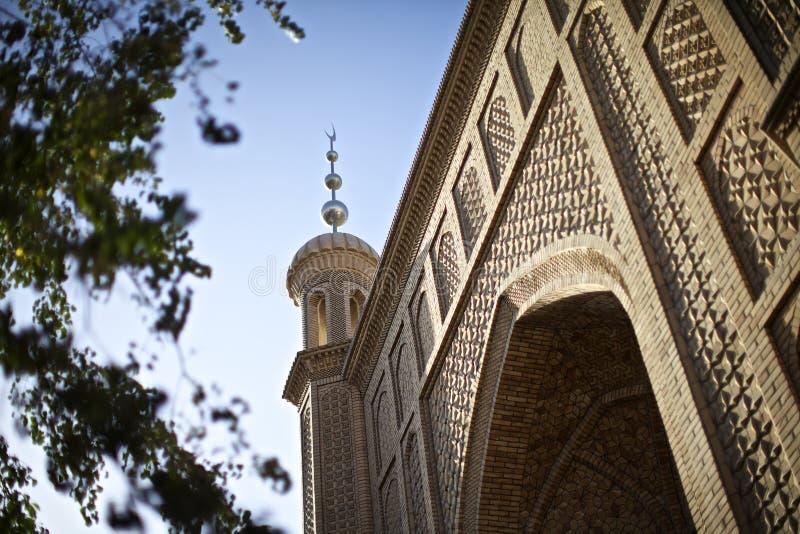 Masjid di stile di Islam fotografie stock