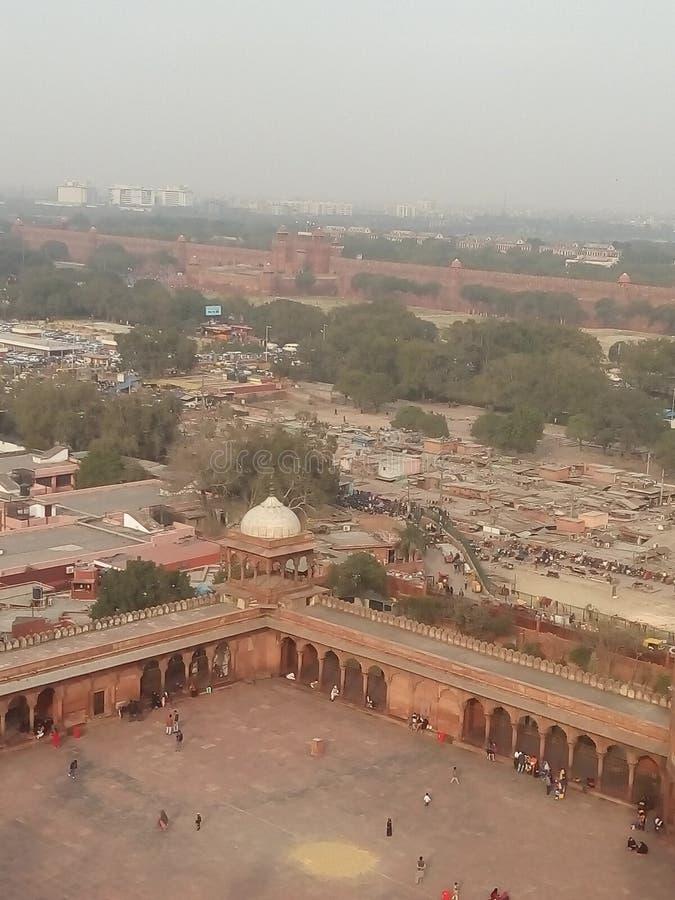 Masjid do Jama, Nova Deli imagens de stock royalty free