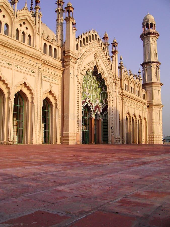 masjid för jama lucknow arkivbild