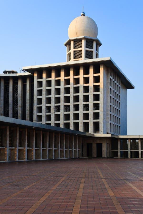 Masjid Istiqlal fotografering för bildbyråer