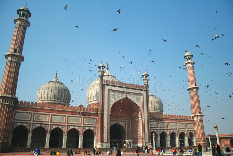 masjid jama стоковые фотографии rf