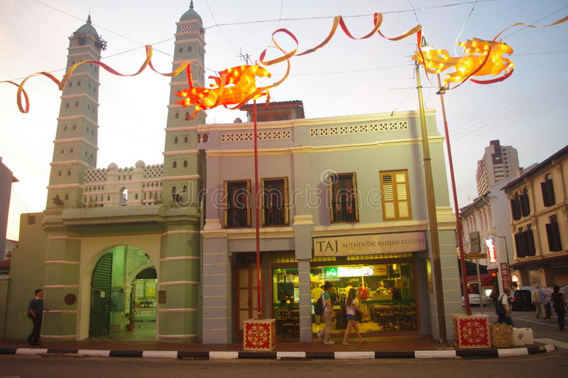 Masjid Jamae mosque royalty free stock photo