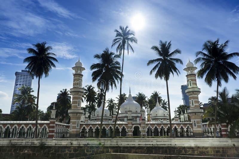 Masjid Jameek Kuala Lumpur imagen de archivo libre de regalías