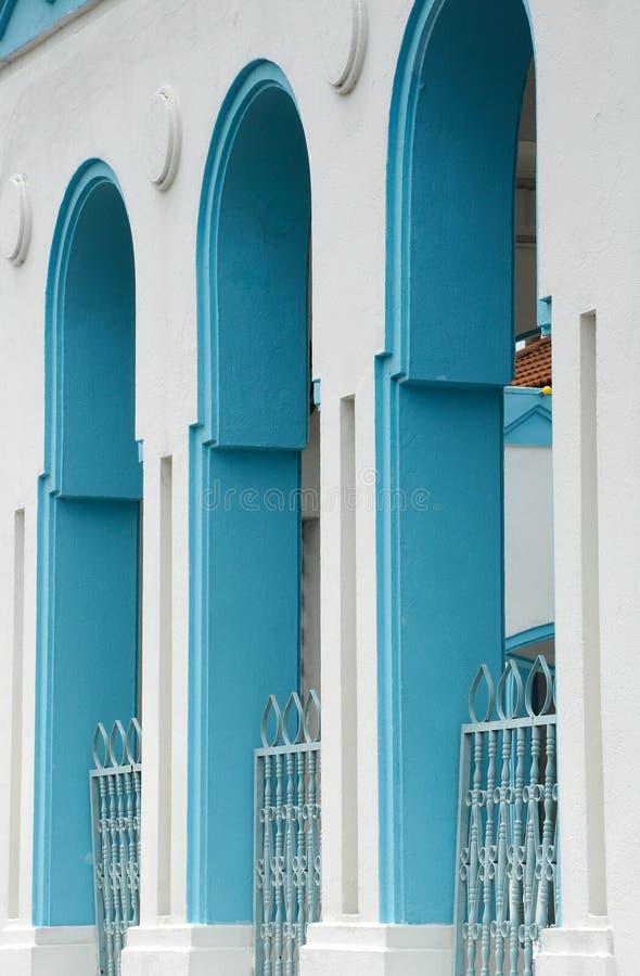 Masjid Jamek达托Bentara Luar在巴株巴辖,柔佛州,马来西亚 免版税库存照片