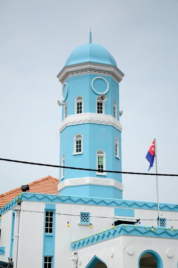 Masjid Jamek达托Bentara Luar在巴株巴辖,柔佛州,马来西亚 库存照片
