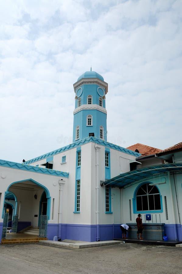 Masjid Jamek Dato Bentara Luar in Batu Pahat, Johor, Malaysia. BATU PAHAT, MALAYSIA – JANUARY, 2014: Masjid Jamek Dato Bentara Luar is a old mosque build stock image