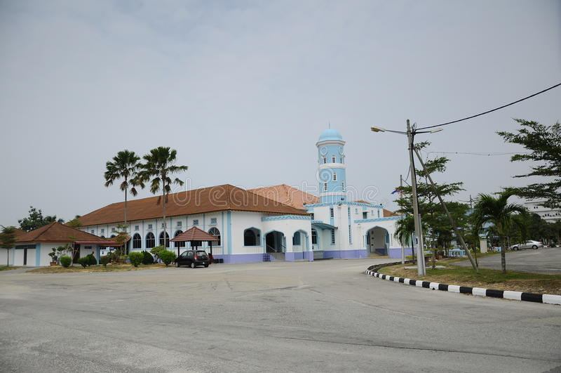 Masjid Jamek Dato Bentara Luar in Batu Pahat, Johor, Maleisië royalty-vrije stock foto