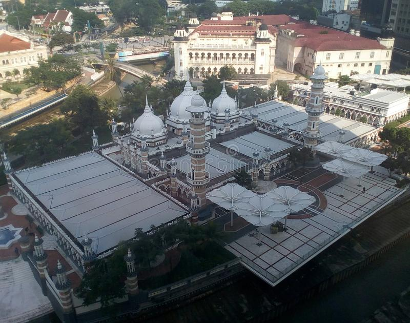 Masjid Jamek kilolitro fotografía de archivo libre de regalías