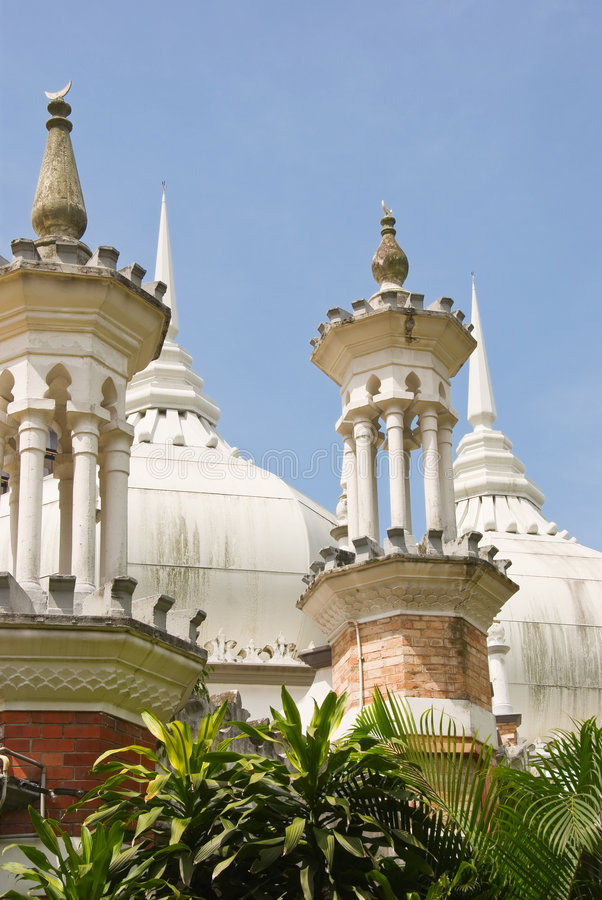 Free Masjid Jamek Mosque, Kuala Lum Royalty Free Stock Image - 4816646