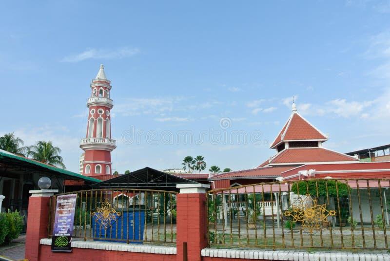 Masjid Jamek Seremban (de Moskee van Seremban Jamek) stock afbeeldingen