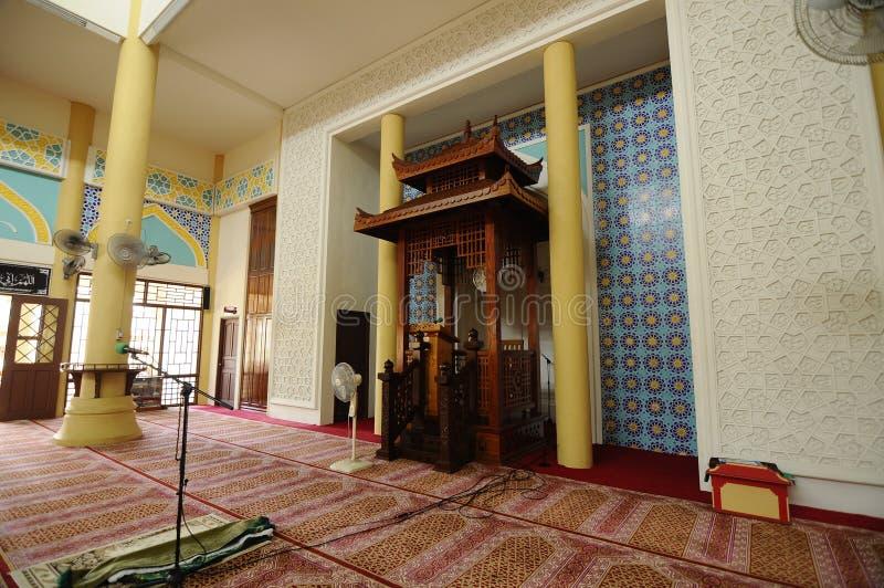 Masjid Jubli Perak Sultan Ismail Petra a K A Masjid Peking arkivfoto