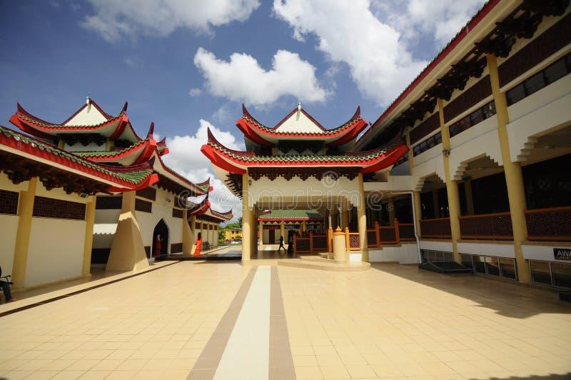 Masjid Jubli Perak Sultan Ismail Petra a K A Masjid Peking royaltyfria foton