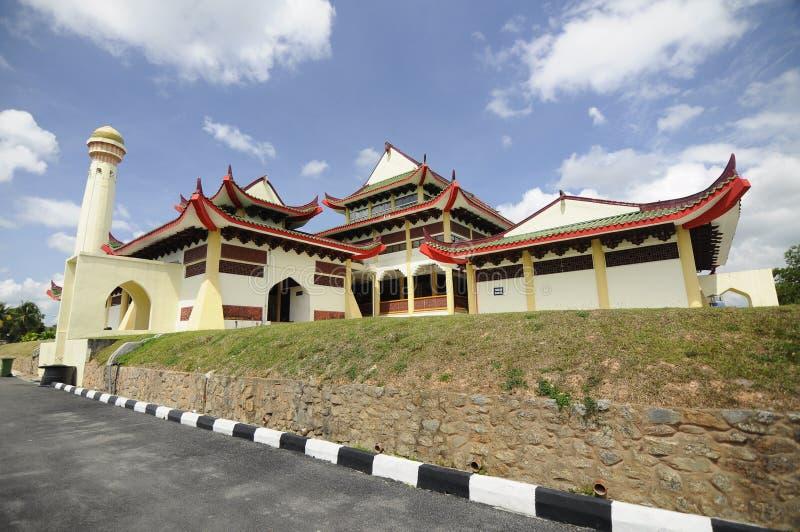 Masjid Jubli Perak Sultan Ismail Petra a K A Masjid Peking arkivfoton