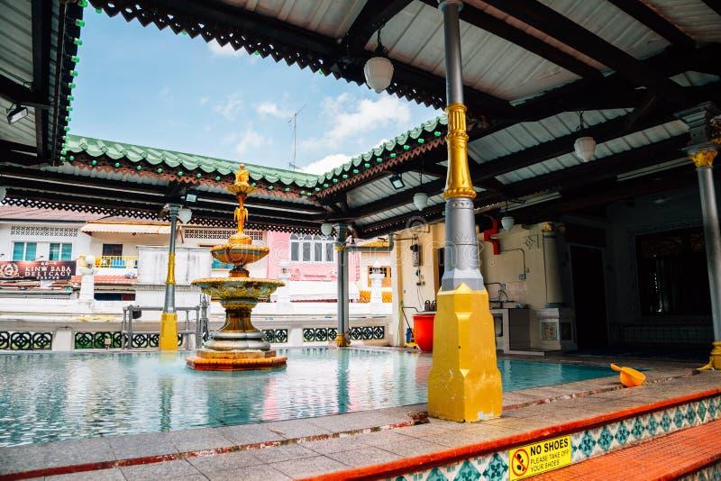 Masjid Kampung Kling au Malacca, Malaisie photo stock