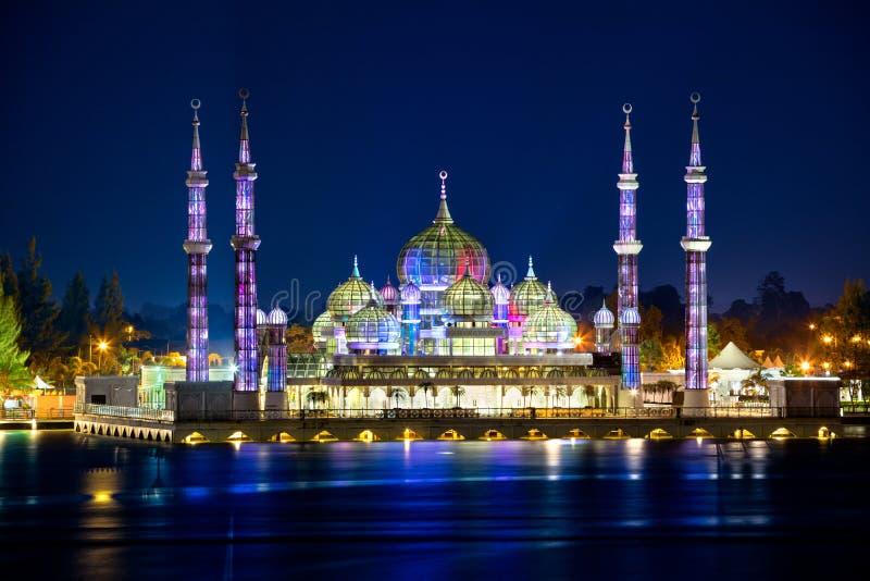 Masjid Kristal (Krystaliczny meczet) obraz stock