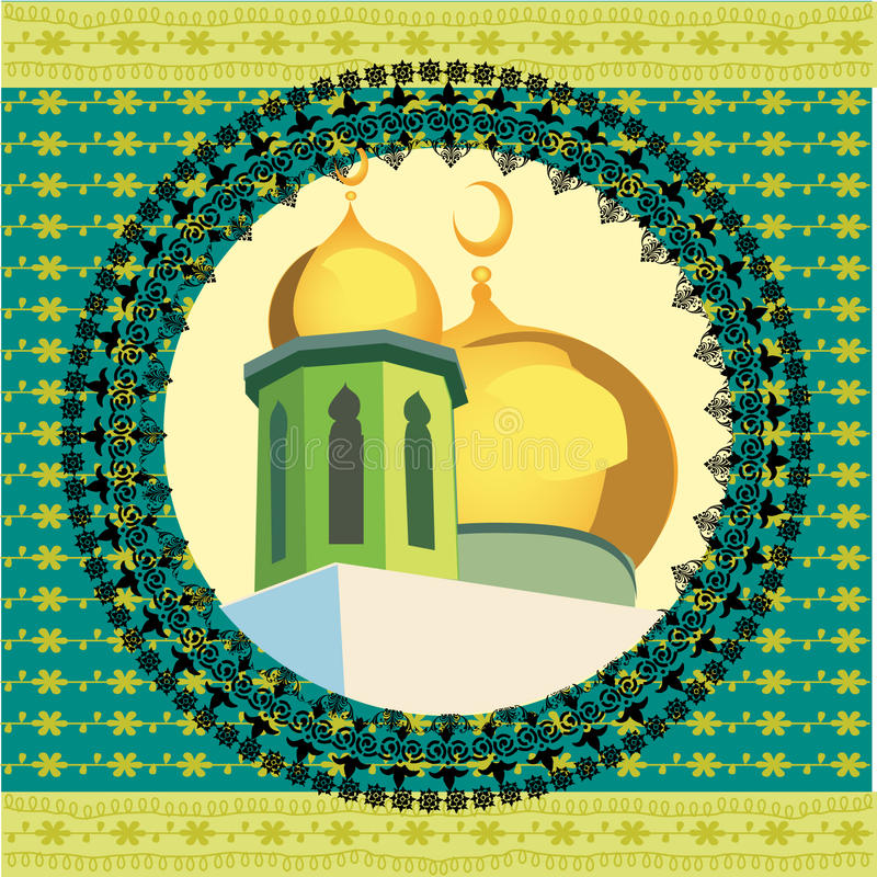 Masjid Kunst stock abbildung