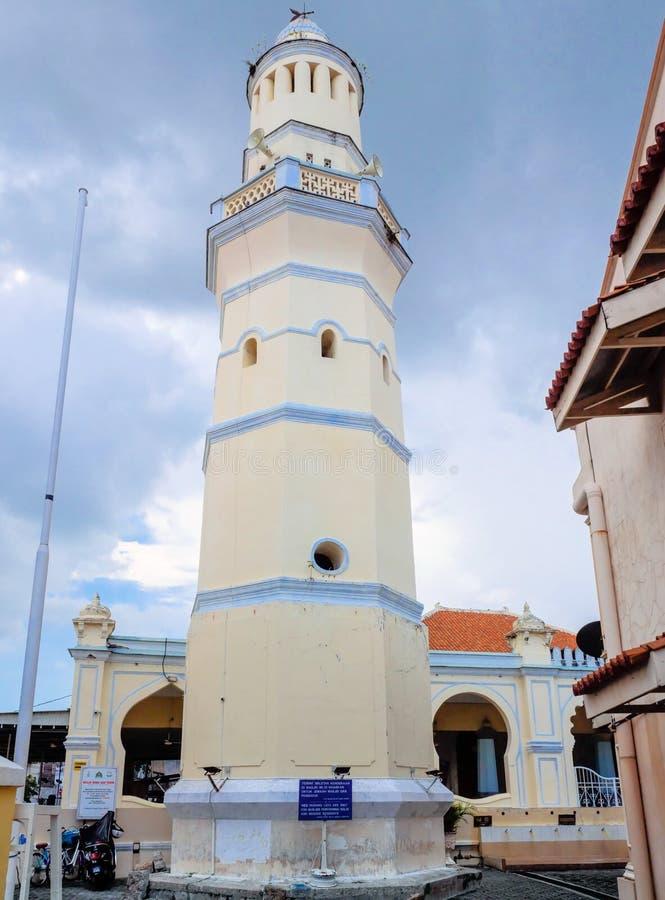 Masjid Lebuh Aceh, la mezquita del siglo XIX en Georgetown, Penang, Malasia fotografía de archivo