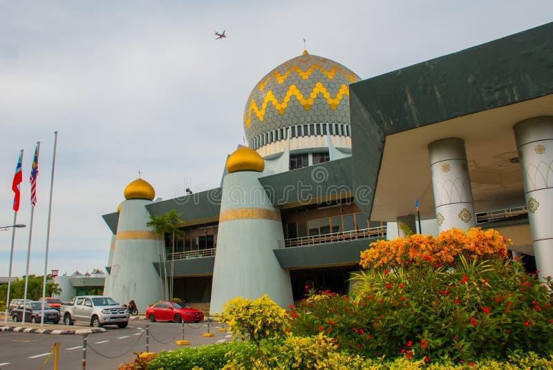 Masjid Negeri Sabah la mosquée d'état de Sabah, Malaisie Kota Kinabalu photographie stock libre de droits