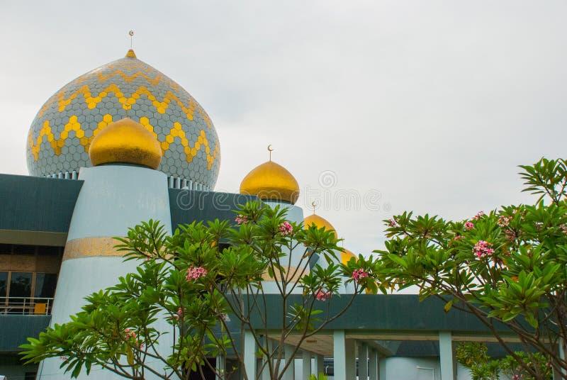 Masjid Negeri Sabah stanu meczet Sabah, Malezja kinabalu kota mt fotografia stock