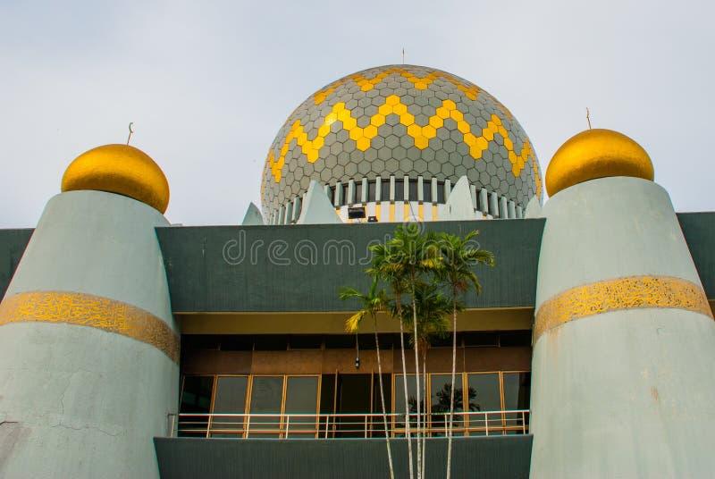 Masjid Negeri Sabah stanu meczet Sabah, Malezja kinabalu kota mt fotografia royalty free