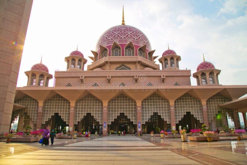 Masjid Putra Religion〠 kościół zdjęcie royalty free