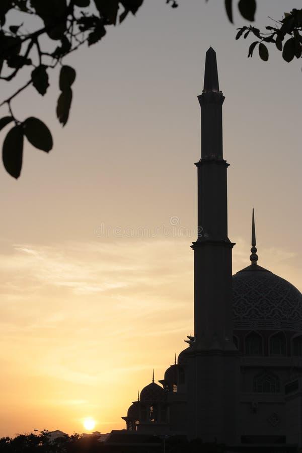 Masjid Putrajaya royalty free stock image