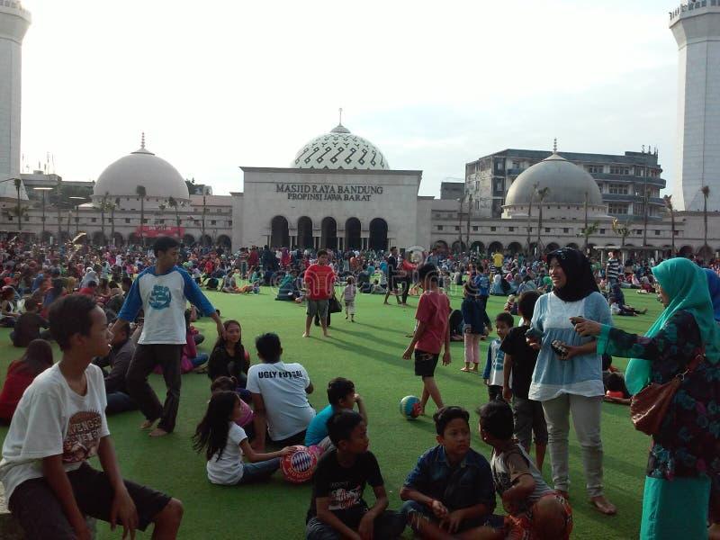 Masjid Raya Bandung fotografia stock