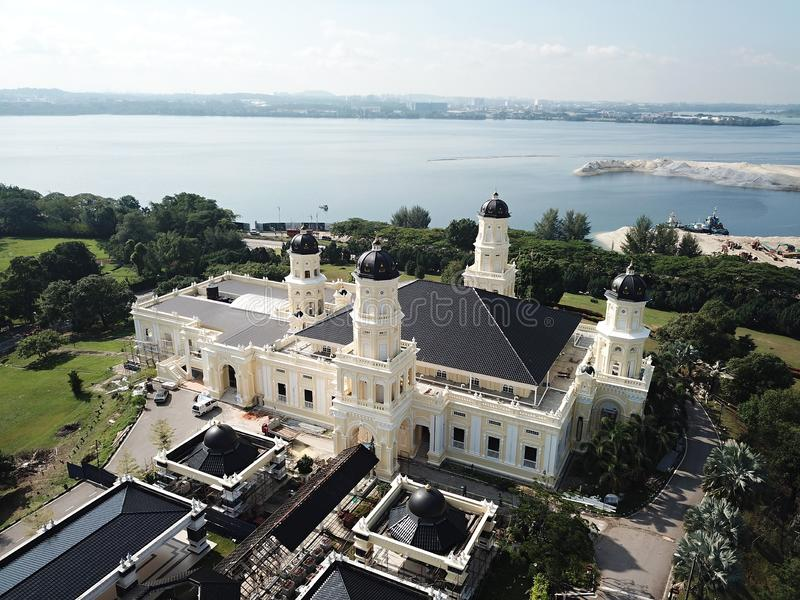Masjid sułtan Abu Bakar zdjęcia royalty free
