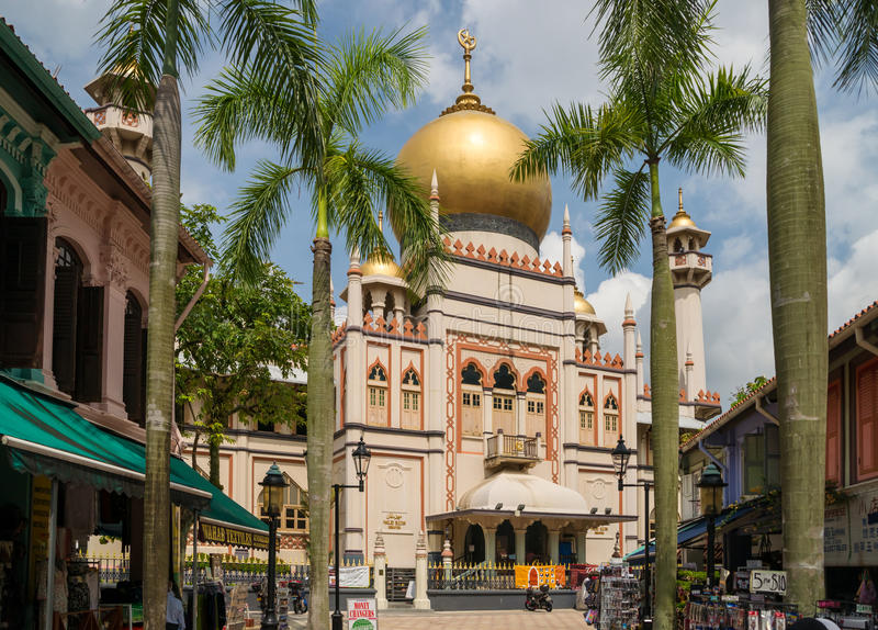 Masjid Sultan royalty free stock images