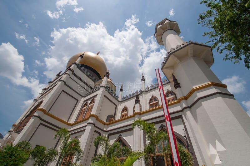 Masjid Sultan fotografering för bildbyråer