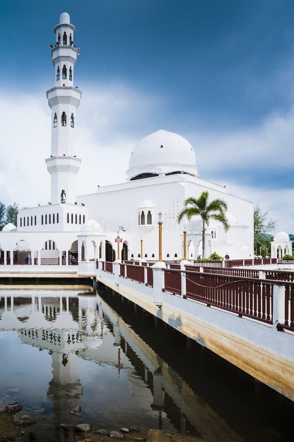 Masjid Terapung Terengganu fotografia stock libera da diritti