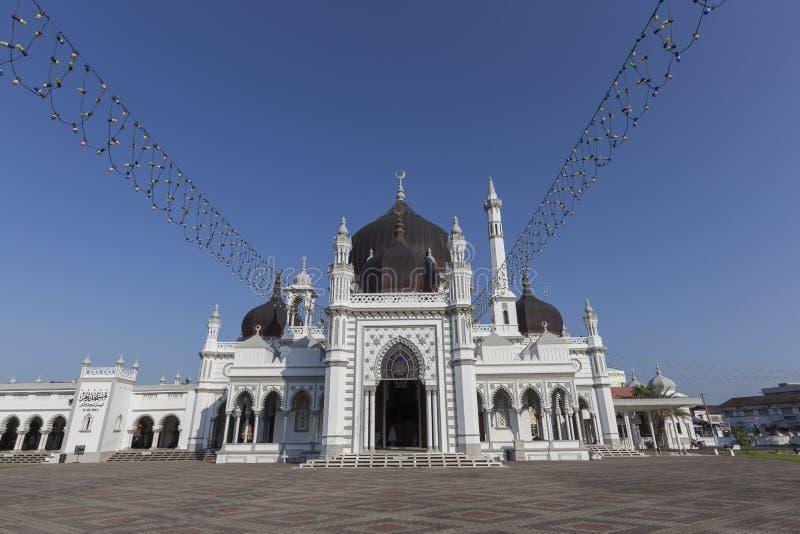Masjid Zahir na cidade de Alor Setar, Malásia imagens de stock